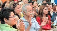 klatschende Menschen im Publikum, Quelle: DTF