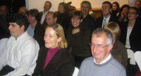 lächelnde Menschen im Publikum, Quelle: DTF