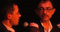 Kerim Arpad spricht mit Blick zu Mehmet Murat Sommer, Quelle: DTF