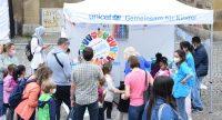 UNICEF Stand auf dem Stuttgarter Kinderfest, Quelle: DTF, Fotograf/in: Kerim Arpad