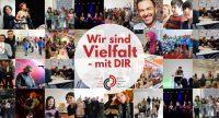 Eine Bildercollage aus mehreren Fotos. Einzelpersonen und Gruppenbildern., Quelle: DTF Stuttgart