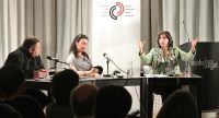 Diskussionsforum BAKIŞ im Literaturhaus, Quelle: DTF, Fotograf/in: Kerim Arpad