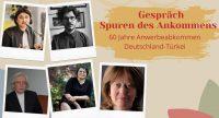 Selbstgestalteter Flyer mit fünf Persönlichkeiten in einem Polaroid-Format, Quelle: DTF Stuttgart