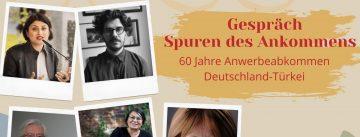 Selbstgestalteter Flyer mit fünf Persönlichkeiten in einem Polaroid-Format